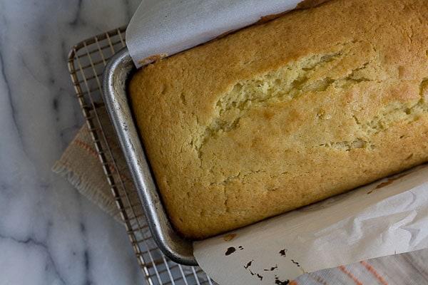 Lemon Upside Down Cake // A Cozy Kitchen