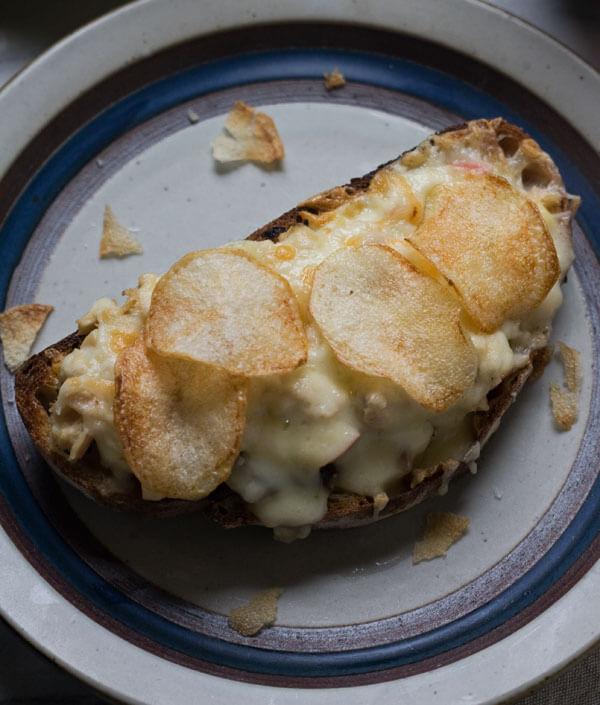 Fancy-Ass Tuna Melts // www.acozykitchen.com