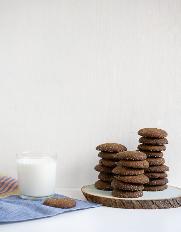 Soft Gingerbread Gingery Cookies