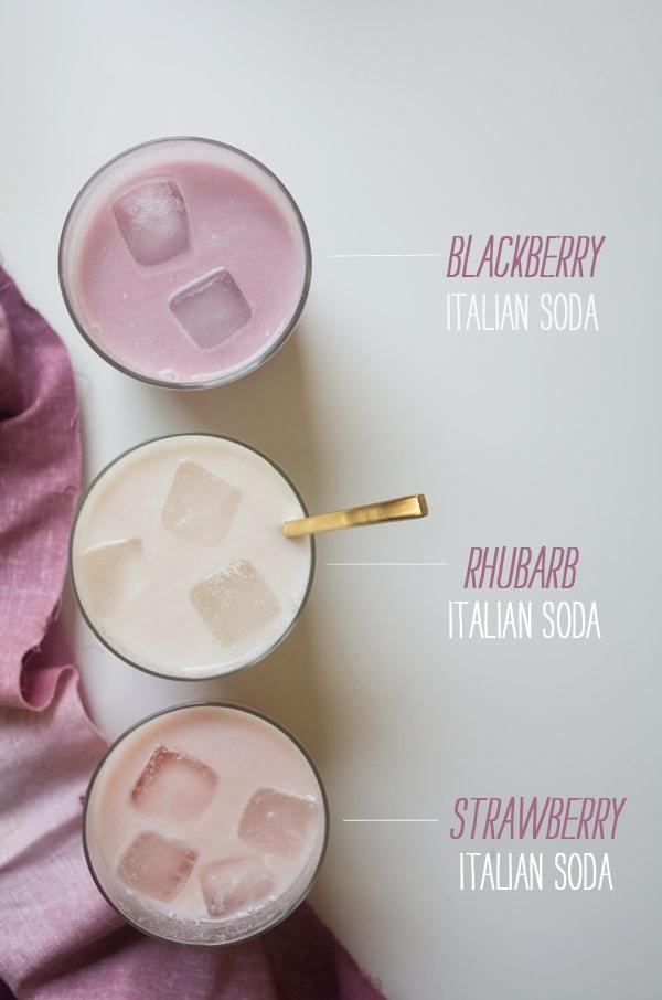 How to Make Italian Sodas | www.acozykitchen.com