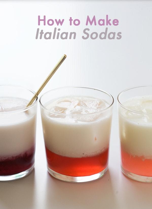 How to Make Italian Sodas // www.acozykitchen.com