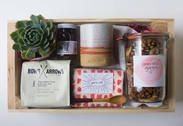 Mother's Day Gift Idea: Breakfast In a Box   www.acozykitchen.com