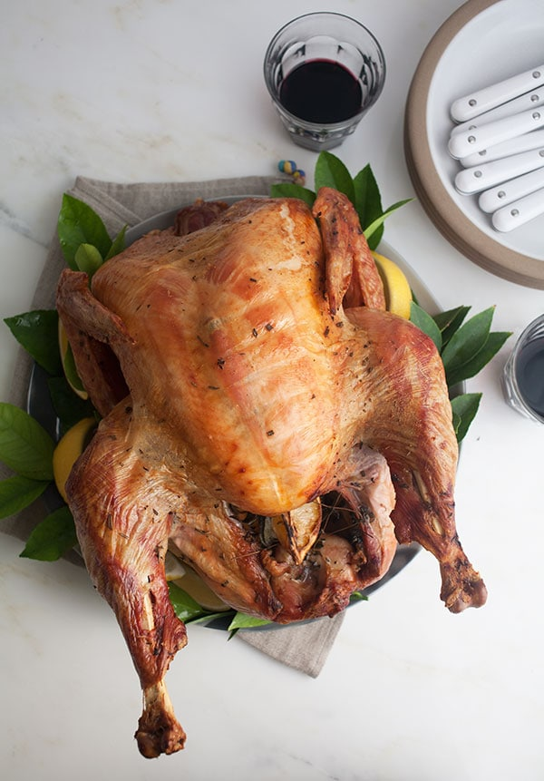 Citrus Dry-Brined Turkey | www.acozykitchen.com