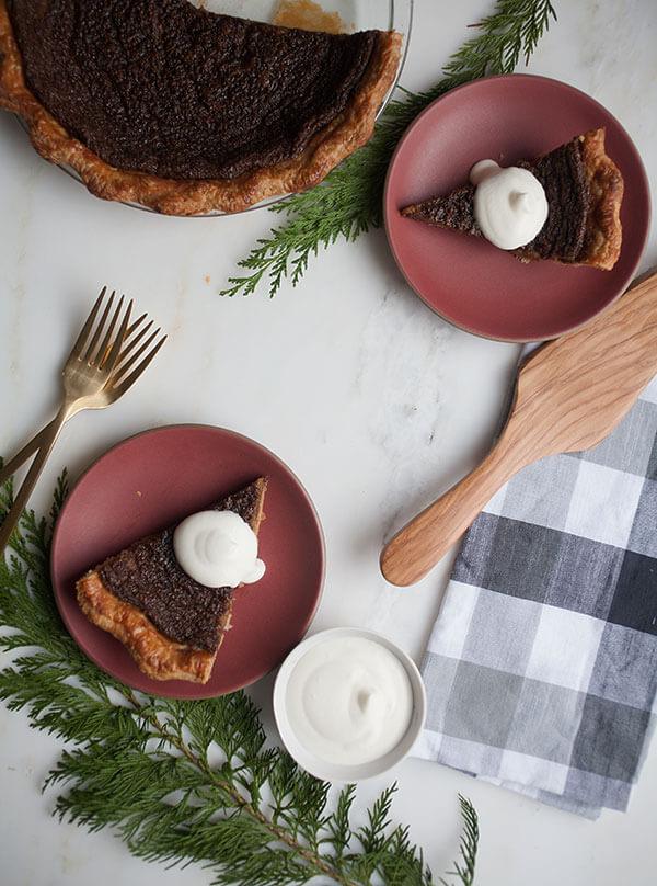Gingerbread Cookie Pie   www.acozykitchen.com