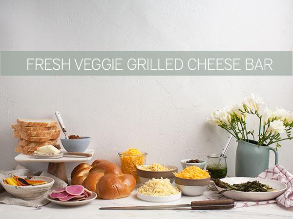 Veggie Grilled Cheese Bar
