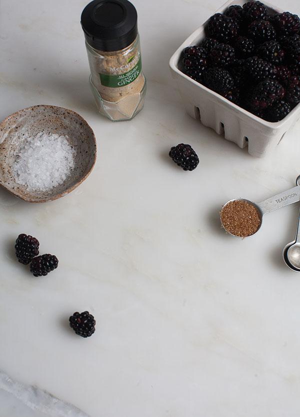 Blackberry Pie Bar Milkshakes