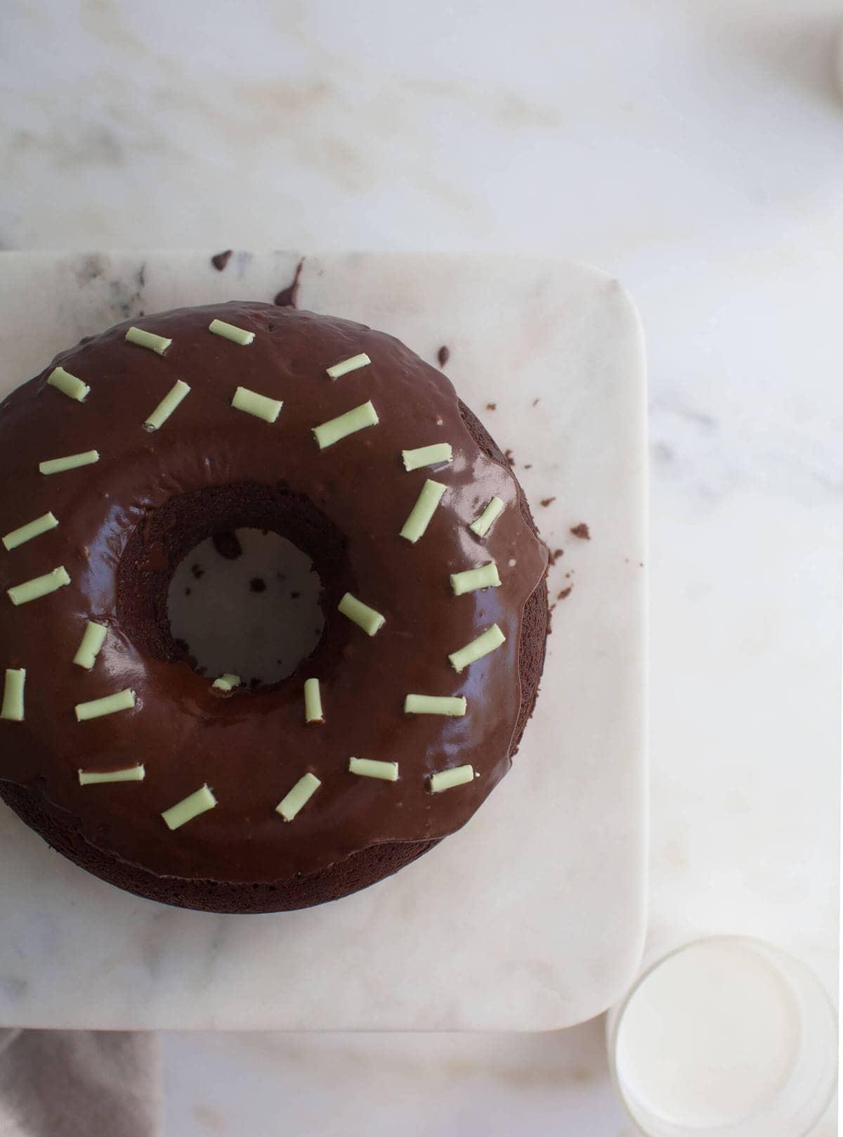 Big Ass Doughnut (w/ Big Sprinkles, Too)