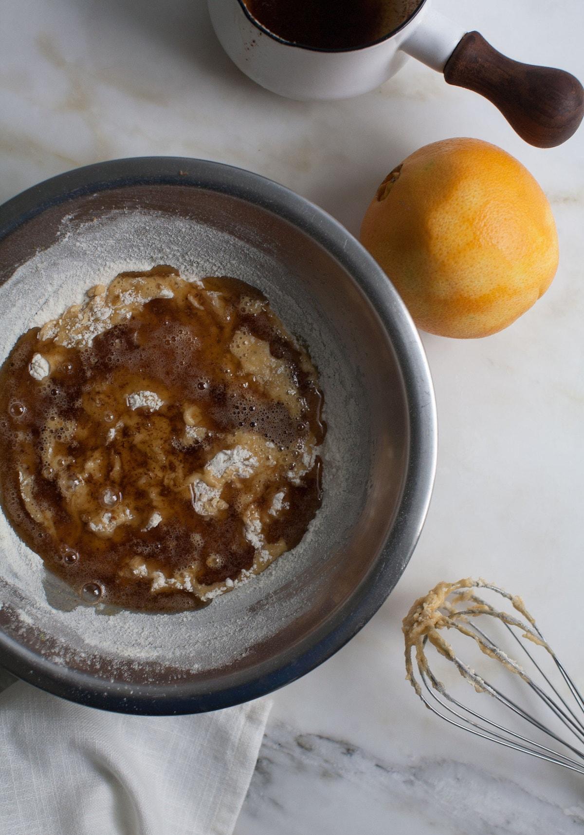 Brown Butter Orange Madeleines