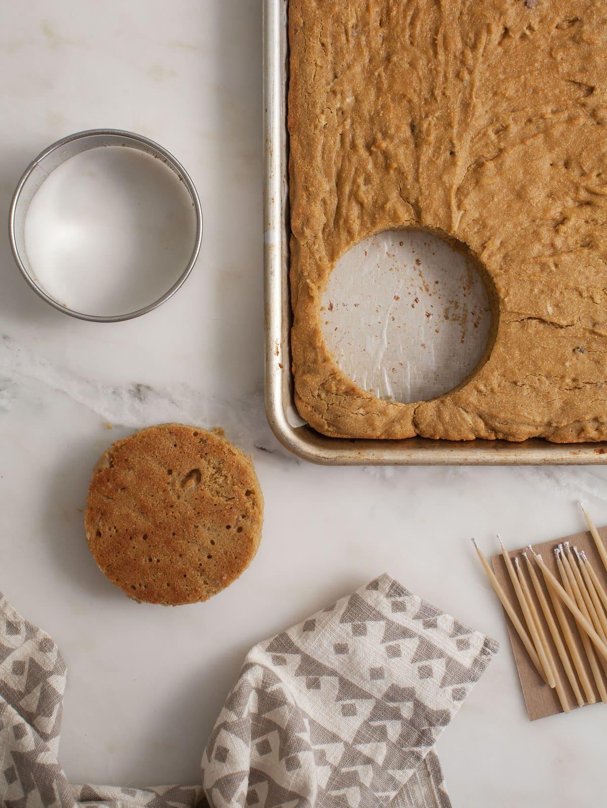 Grain Free Mini Dog Cakesfor Amelias Birthday A Cozy Kitchen