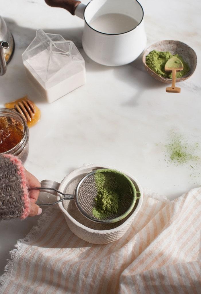 Make a Matcha Latte