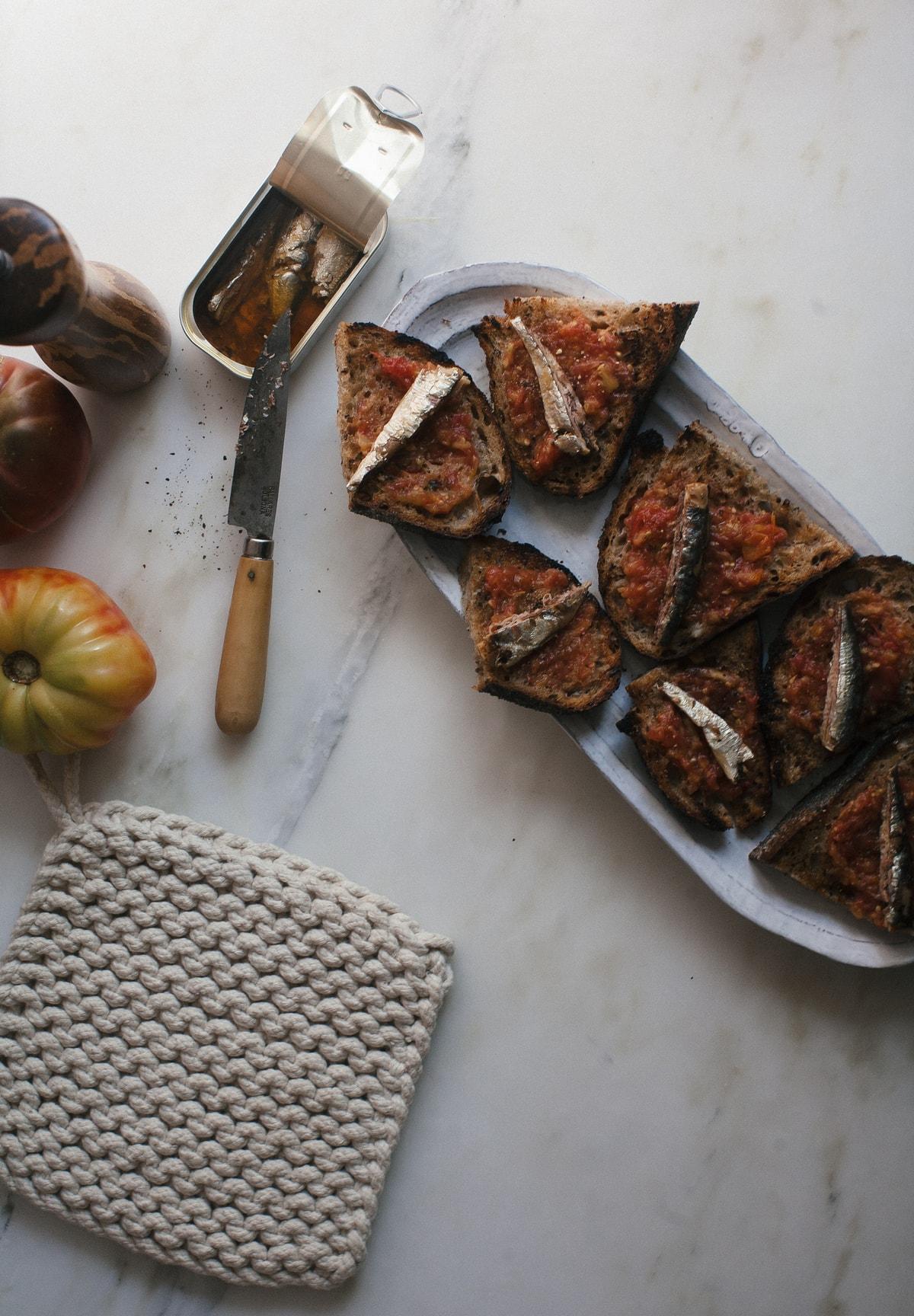 Heirloom Pan Con Tomate