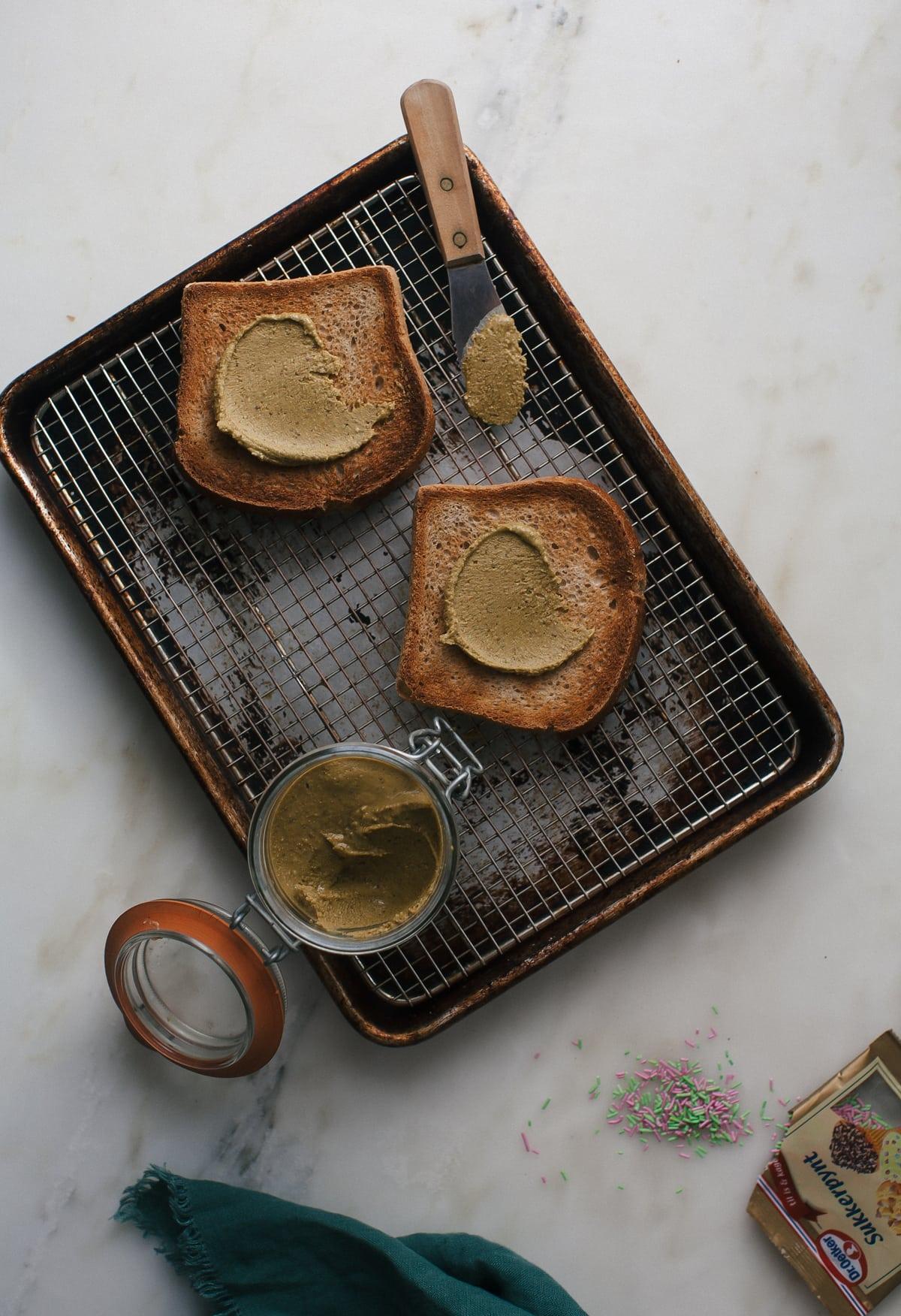 Coconut Pistachio Paste