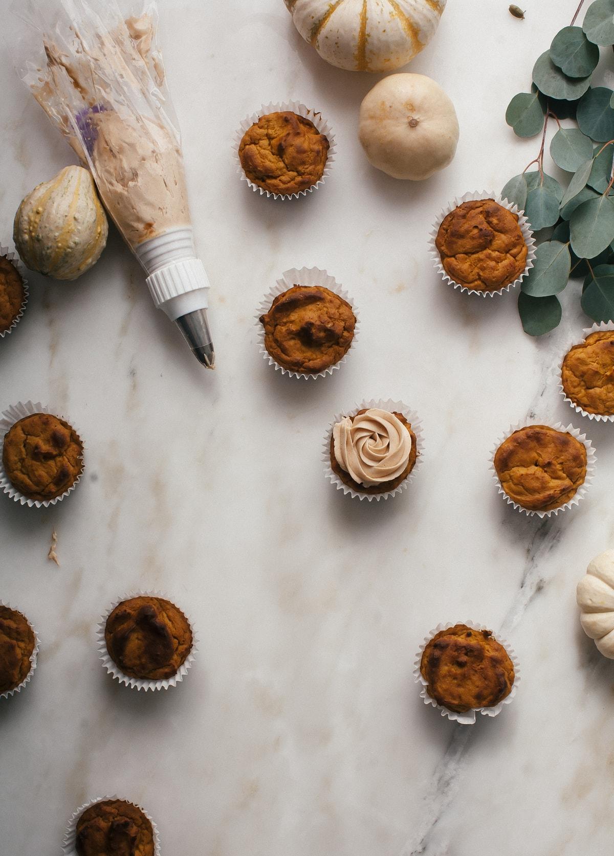 Pumpkin Pupcakes