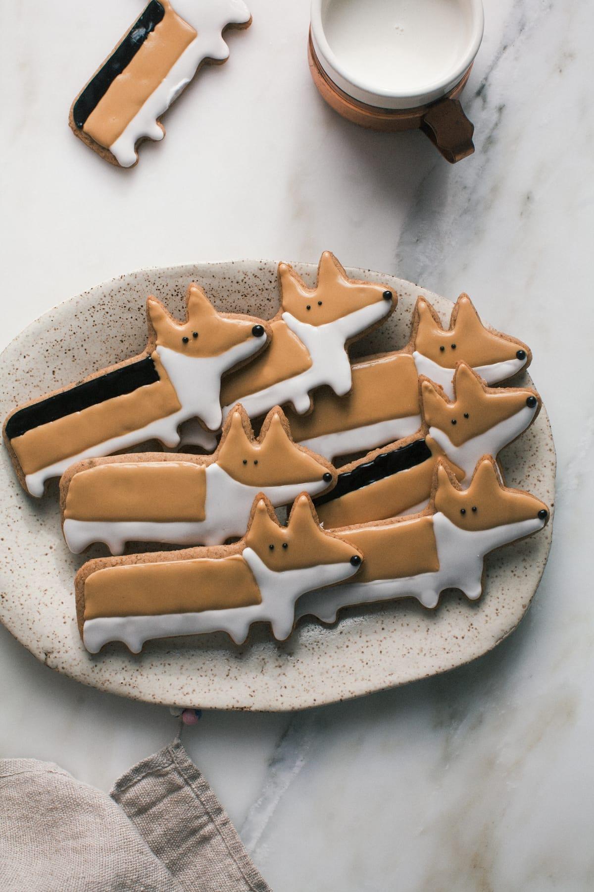 Corgi Chai Cookies