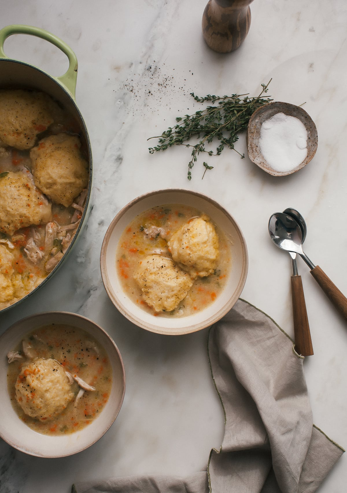 Cornbread Chicken and Dumplings