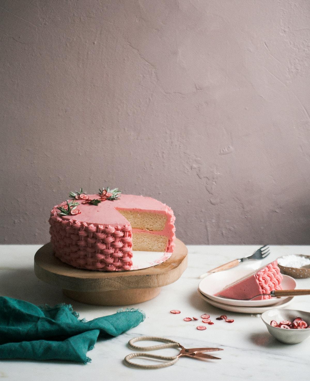 Cranberry Chestnut Cake